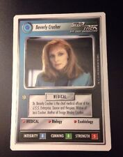 Star Trek CCG Premiere WB Unlimited Beverly Crusher