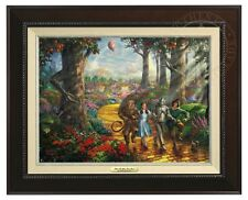 Thomas Kinkade - Wizard of Oz - Canvas Classic (Espresso Frame)