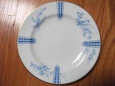 """Wedgwood Blue Birds bone china 7 3/4"""" dessert plate  Y2715"""