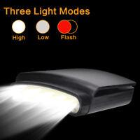 COB LED Headlamp Cap Hat Light Clip-on Headlight Indoor &Outdoor Bright Lamp