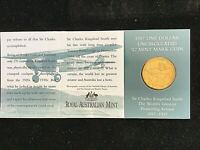Australia 1997 Kingsford Smith $1 'C' Mint Mark UNC AS NEW