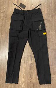 Nike Air Jordan Legacy 2 Men's XLarge XL Black Gold Cargo Pants CZ1192-010 NWT