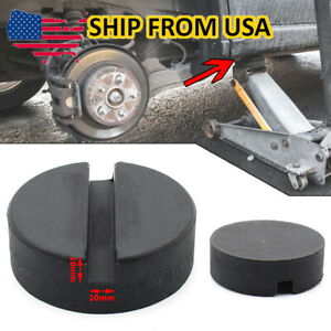 Classic Trolley Jack Pad Pinch Weld Floor Jacking Lifting Puck Adapter Rubber