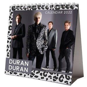 Duran Duran 2022 Desktop Calendar NEW Desk 12 Months