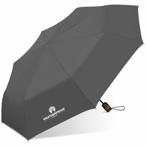 "WeatherProof 42"" Auto Open Super Mini Umbrella Solid colors"