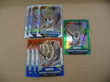 QUINCY PONDEXTER PRIZM LOT OF 7 PELICANS SILVER GREEN RED WHITE BLUE