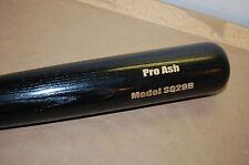 "New Pinnacle Sports Pro Ash Sq29 Baseball Bat 34"" 31oz Black cupped end"