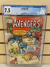 Avengers #83 1970 MARVEL Comics 1st Appearance Valkyrie Liberators CGC 7.5