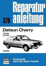 Datsun Cherry ab 1974 1,0 1,2 Reparaturanleitung Reparatur-Handbuch Wartung POD