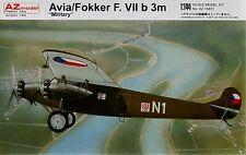 Az models 1/144 avia/fokker f. VIIB militaire 3m # 14402