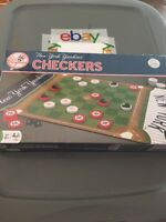 Brand New MasterPieces MLB New York Yankees Checkers Board Game Sealed