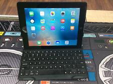 Apple iPad 3rd Gen 64GB Wi-Fi 9.7in Black MC707LL/A w Zagg Bluetooth keyboard