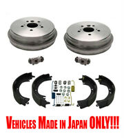 Fits Toyota Camry 2.4L Built in Japan 2002-06 Rear Brake Drums Shoes & Hardware