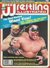eb1460 Ricky Steamboat signed Magazine Poster w/Coa Road Warrior Animal