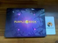 PURPLEBECK - CRYSTAL BALL 500 LIMITED EDITION AUTOGRAPHED ALBUM