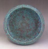 Beautiful Antique Chinese Porcelain Qing Green Yao bian Glaze Big Brush Washer