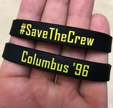 #SaveTheCrew Columbus '96 Crew Wristband Bracelet SAVE THE CREW
