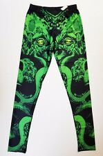 Cthulhu Leggings Stretch Silky *S/M* HP Lovecraft Monster Halloween Costume