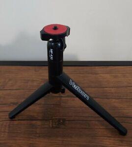 Velbon MP-430 Small Adjustable Tripod For Nikon Canon Fuji Samsung Sony CAMERAS