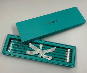 New In Box, Tiffany Blue Pencil Set, 5 pencils