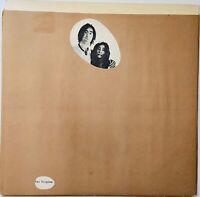 "JOHN LENNON & YOKO ONO ""TWO VIRGINS"" LP - APPLE T-5001 1968 US PRESS RARE- MINT!"