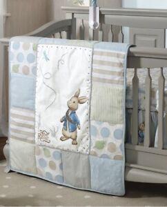 Nickelodeon Lambs & Ivy Baby Peter Rabbit Baby Crib Comforter