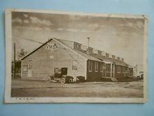 Y.M.C.A. Hut / Newport News, Va. ??? -- 1919 Army Postcard