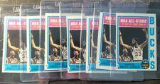 1974 Topps #1 Kareem Abdul Jabbar lot of 7 VG to EX