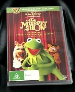 The Muppet Show : Season 1 (DVD, 2011, 4-Disc Set) Very Good Condition Region 4