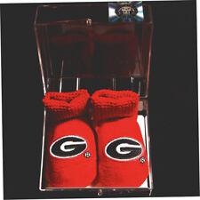 UGA UNIVERSITY OF GEORGIA Bulldogs Red Baby Booties