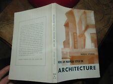 Vers un Nouveau Style en Architecture Rudolph Steiner 1969