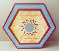 Drumond Park ENIGMA - A Game Of Riddles Board Game Vintage 1988 2-6 Players 12+