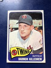 1965 Topps #400 HARMON KILLEBREW HOF MINNESOTA TWINS AWESOME CENTERING