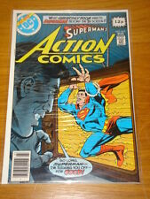 ACTION COMICS #493 DC NEAR MINT CONDITION SUPERMAN MARCH 1979