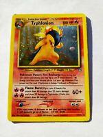 Typhlosion 17/111 Holo Rare Pokemon Neo Genesis Vintage WotC played