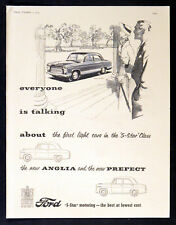 FORD ANGLIA & FORD PREFECT 1953 '5-Star' Class light cars BRITISH ADVERT