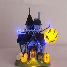Halloween Decoration Spooky Haunted House Flashing Lights Sound Motion Sensor