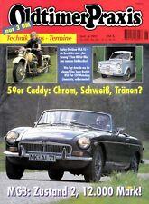 OP9506 + HARLEY-D. WLA 45 + HONDA CB 400 von 1974 + Oldtimer Praxis 6/1995