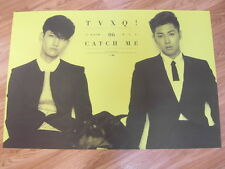 TVXQ  - CATCH ME [ORIGINAL POSTER] K-POP *NEW*TOHOSHINKI