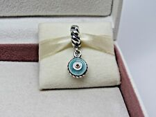 New Retired w/Box Pandora Watchful Eye Dangle Charm #790529 Luck Maloik