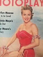 Vintage Collectible Movie Magazine Terry Moore Cover August 1954