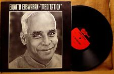 SPIRITUEL LP: EKNATH EASWARAN, MEDITATION 1968 Arhoolie Records 9001