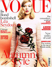 VOGUE UK November 2015 Lea Seydoux KARLIE KLOSS Liv Tyler SASKIA DE BRAUW @Exclt