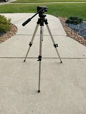 Bogen Manfrotto 3001 Professional Grade Tripod w/ 3126 Pan Head Made In Italy