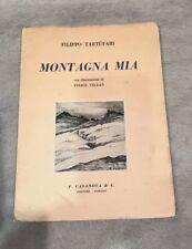 TARTUFARI Montagna mia Sonetti romaneschi Illustrazioni di Felice Vellan