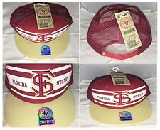 "Florida State Seminoles Forty Seven Brand Snapback Mesh Sides and Back       ""C"""