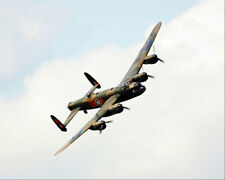 BRITISH LANCASTER BOMBER WWII AIRCRAFT 8x10 SILVER HALIDE PHOTO PRINT