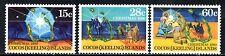 (Ref-10694) Cocos (Keeling) Island 1980  Christmas  SG.50/52 Mint (MNH)