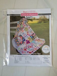 Block of the Month Edyta From Laundry Basket Quilts By Sitar Only 6 Fabrics Alaska Quilt Pattern