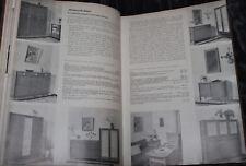 Das Tischlergewerk kompletter Jahrgang 1951 Tischler Möbel Schreiner Treppen...